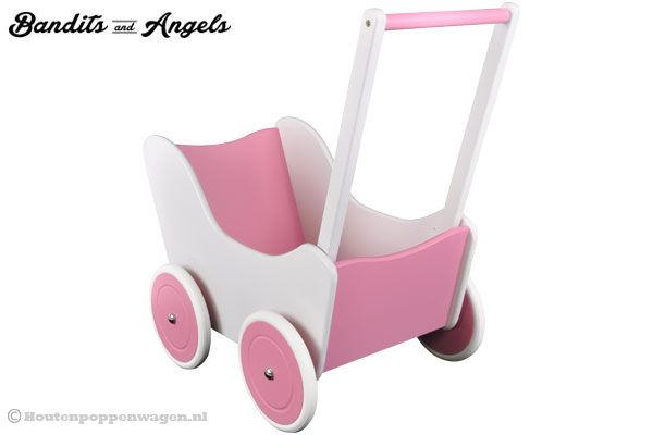 Poppenwagen Little Angel special edition.